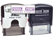 PermaPRINT Dual Clothing Stamper - Includes FREE StampDARK Tool