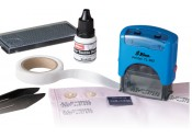 Shiny Do-It-Yourself Textile Labeling Kit - Self Inking Stamp (TL-882)